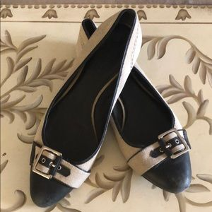 Banana Republic Bucket Toe Ballerina Flat Size 9